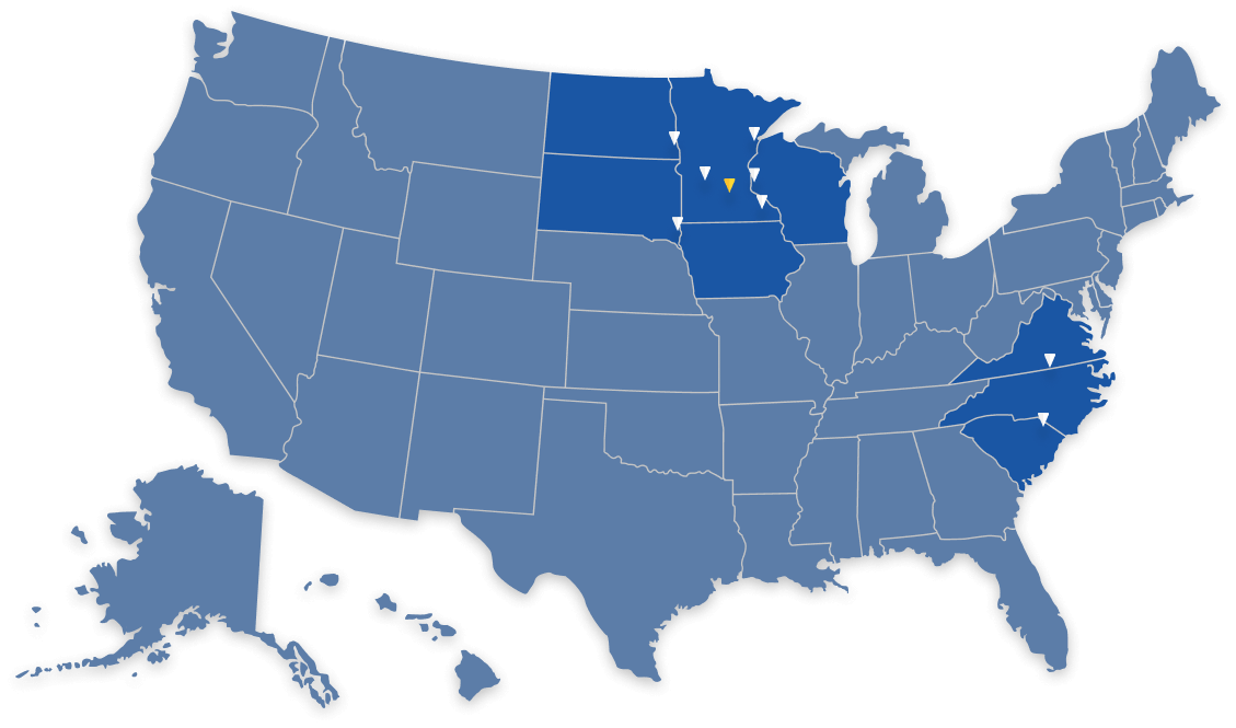 OECS US Map